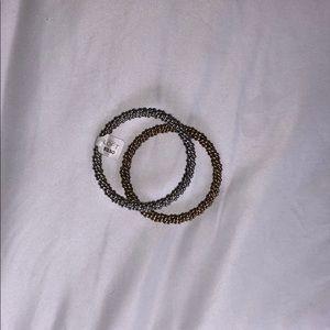 LOFT gold and silver bracelets